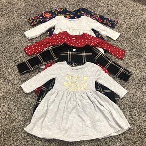 BUNDLE - 5 Old Navy Baby Girl Dresses
